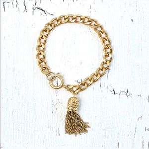 🆕 Rachel Zoe Gold Tassel Bracelet